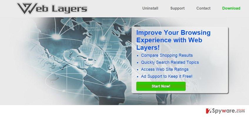 Web Layers ads