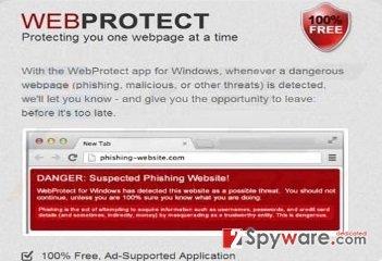 Web Protect virus snapshot