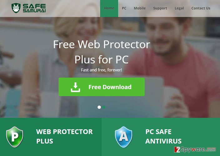 Web Protector virus