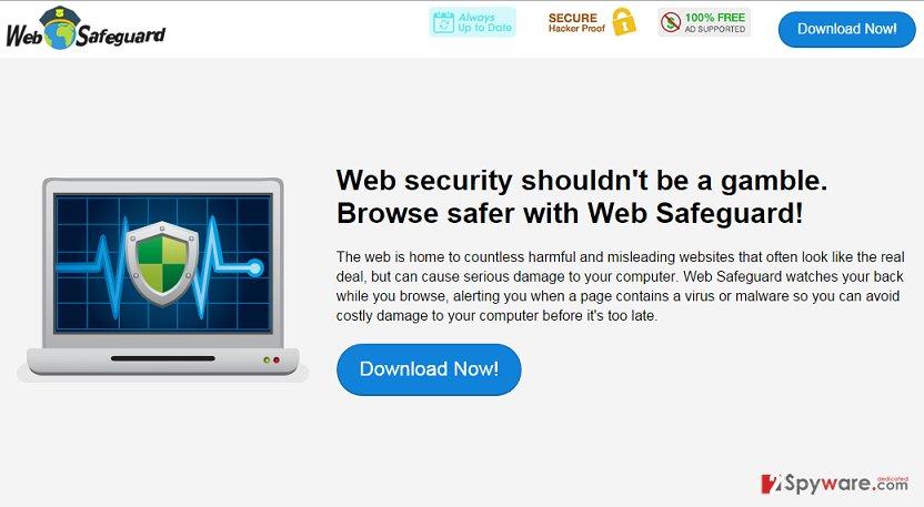Web Safeguard adware