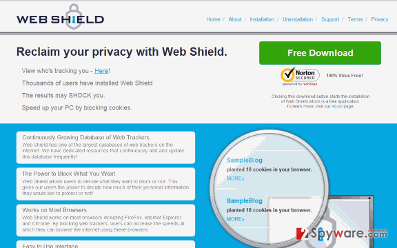 The picture of Web Shield