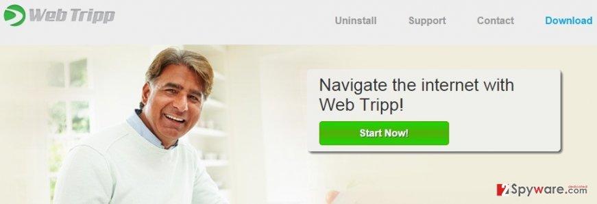 Web Tripp ads snapshot