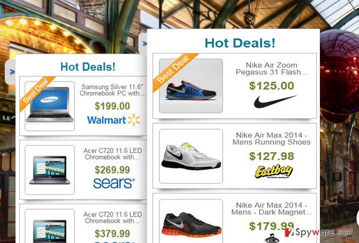 Web United ads snapshot