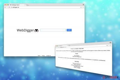 Picture of Webdigger.net virus
