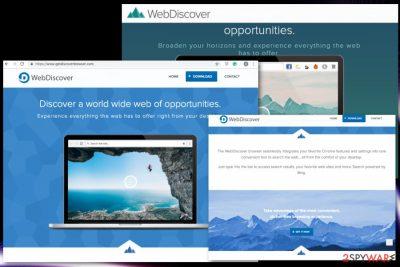 Fake browser