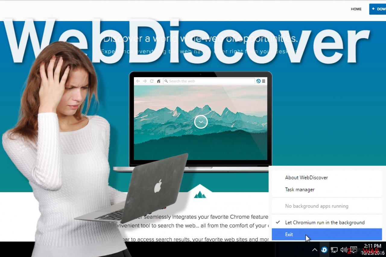 WebDiscover Browser image