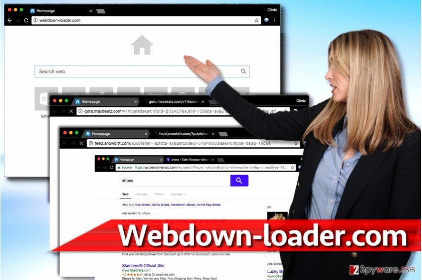 Webdown-loader.com redirects
