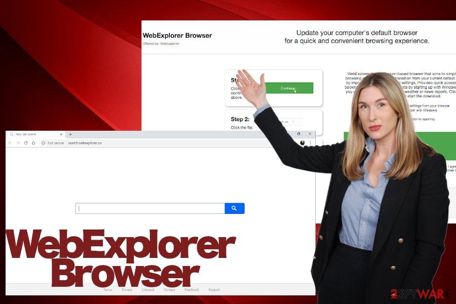WebExplorer virus