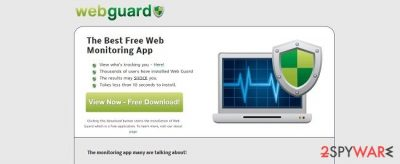 Web Guard virus