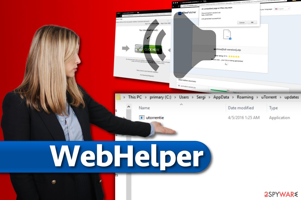 Remove WebHelper virus (Removal Guide) - updated Sep 2019