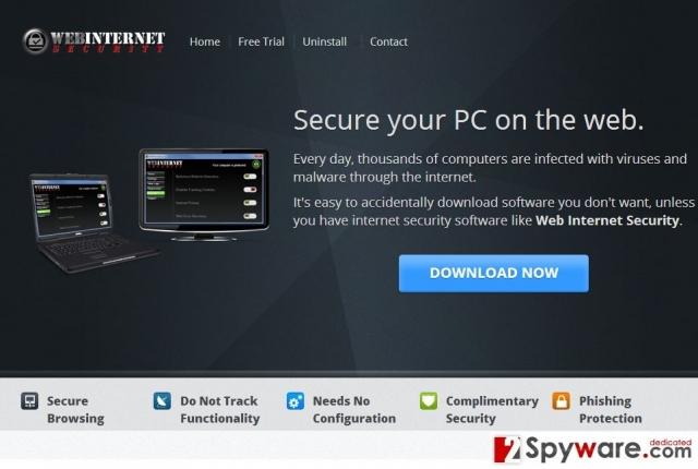 WebInternetSecurity snapshot