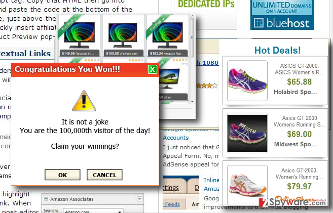 WebScan PRO virus redirects can make you visit unreliable pages or installation of other PUPs