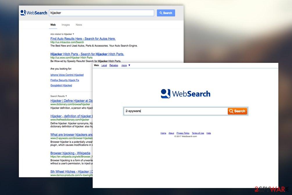 WebSearch.com virus