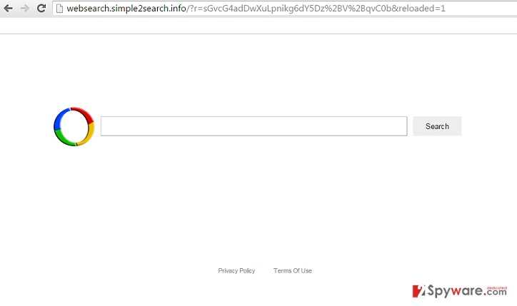 Websearch.simple2search.info redirect