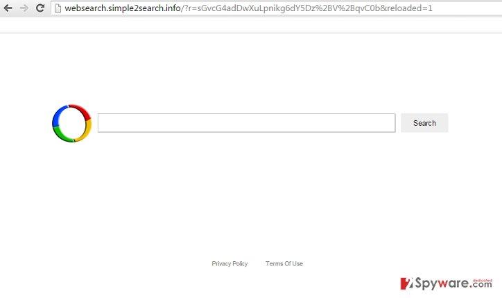 Websearch.simple2search.info virus