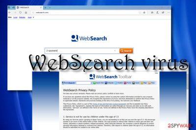 WebSearch browser hijacker