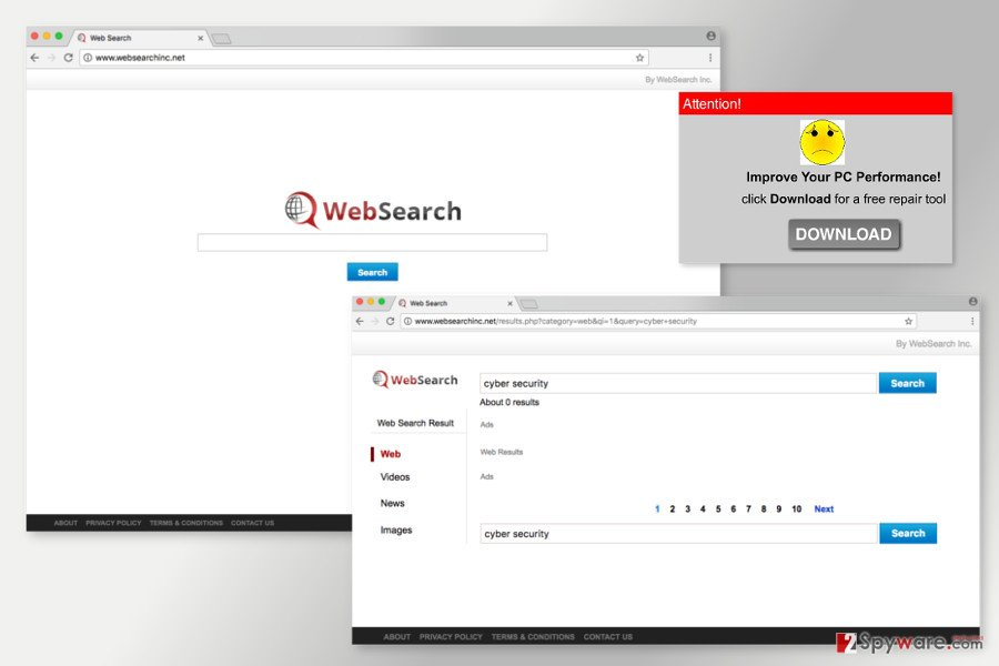 The image of Websearchinc.net
