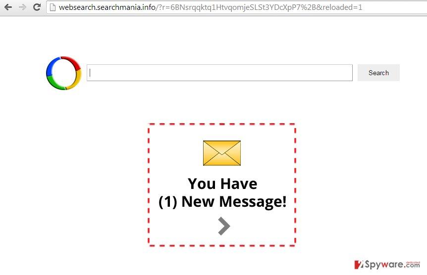 Websearch.searchmania.info virus