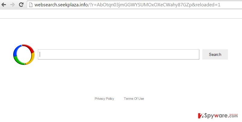 Websearch.seekplaza.info search