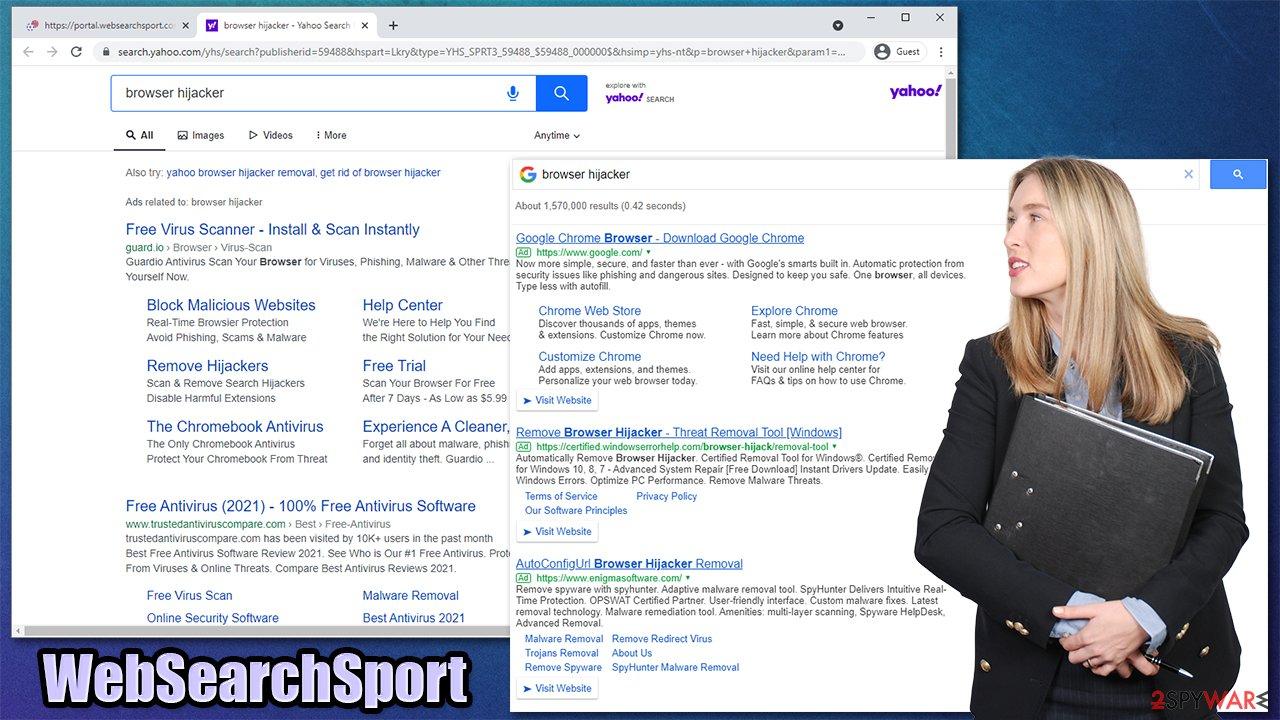 WebSearchSport virus