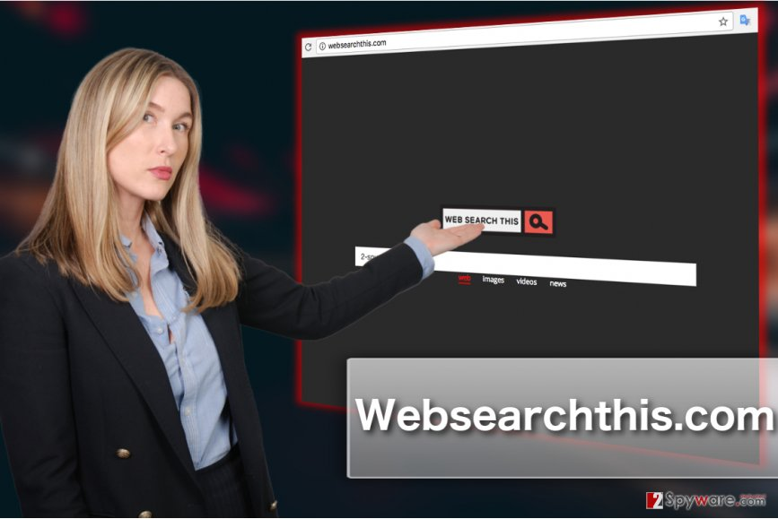 Websearchthis.com browser hijacker image