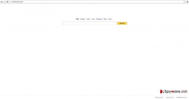 WebSearchy.com snapshot