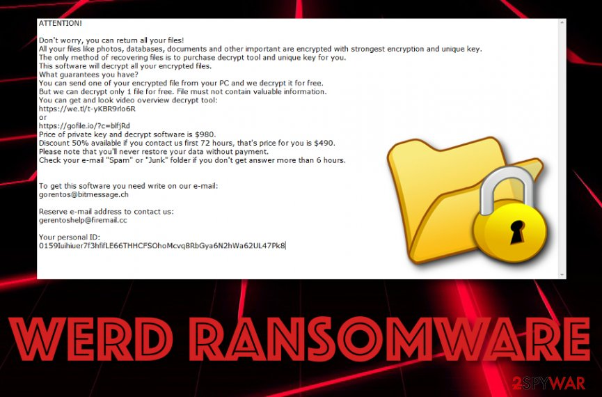 Werd ransomware virus