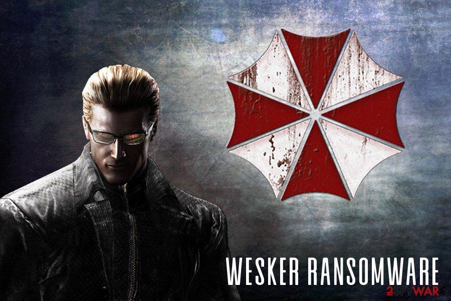 Wesker ransomware virus