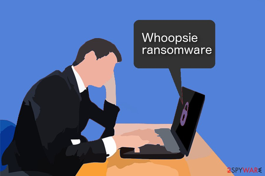 Whoopsie ransomware image