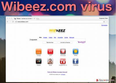 Image of the Wibeez.com virus