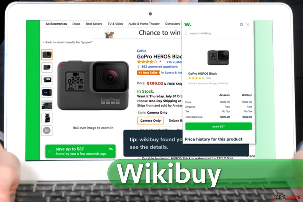 Wikibuy extension for Chrome