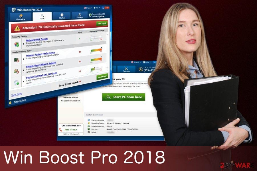 Win Boost Pro 2018 virus