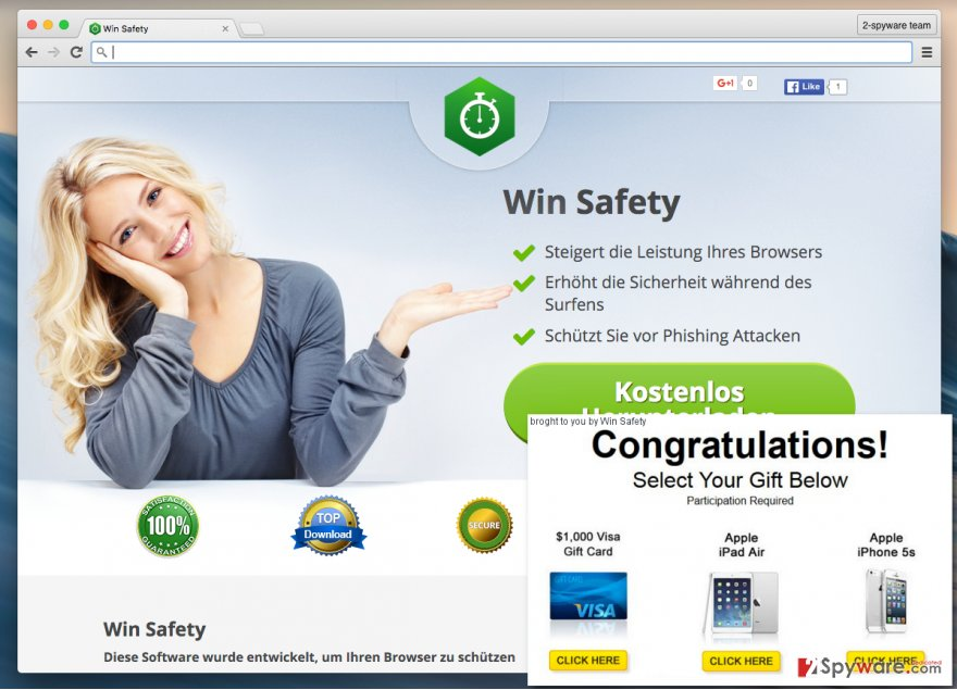 Win Safety adware