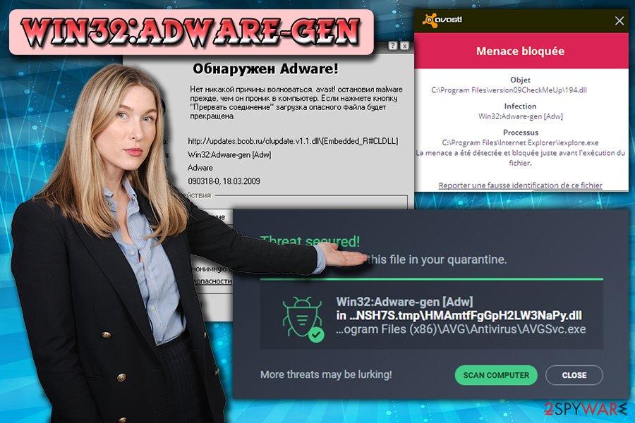 Win32:Adware-gen adware