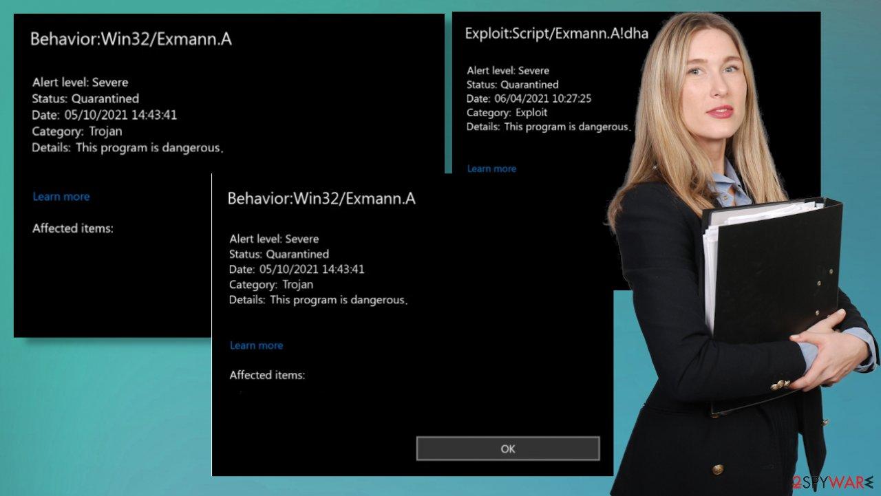 Win32/Exmann.A Trojan