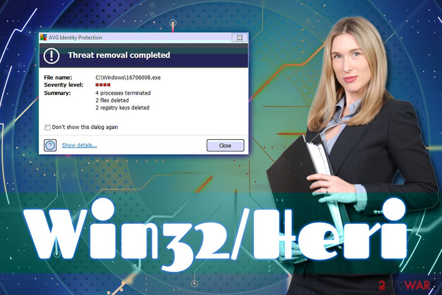 Remove Win32/Heri (Free Guide) - Removal Instructions