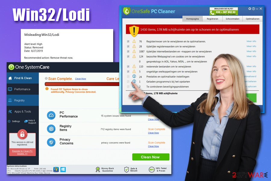 Win32/Lodi virus