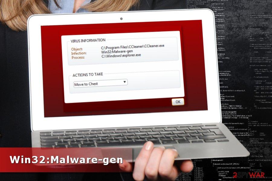 Win32:Malware-gen detection