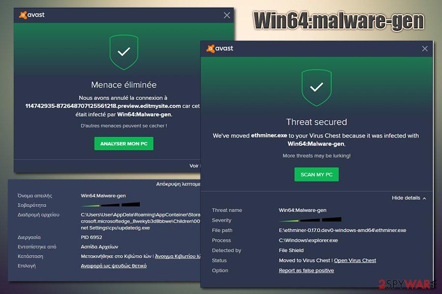 Win64:malware-gen virus