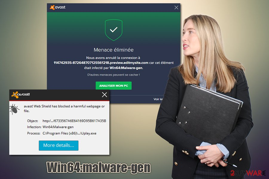Win64:malware-gen heuristic