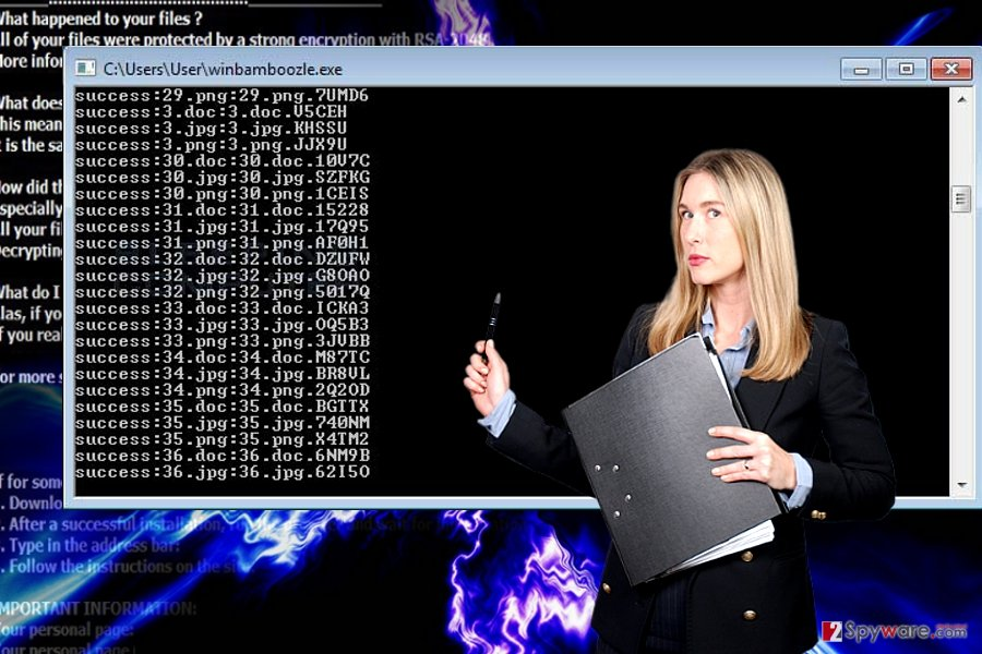 WinBamboozle ransomware virus