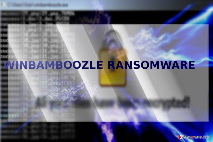 The image illustrating WinBamboozle threat