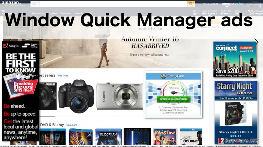 An image of the Window Quick Manager ads