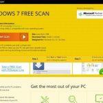 Windows 7 Free Scan pop-up virus