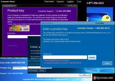 An illustration of the Windows Activation Error Code: 0x44578 virus