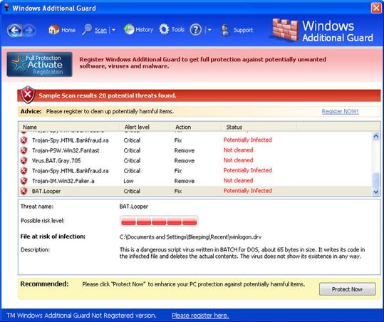 Windows Additional Guard