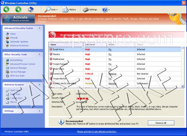 Windows Custodian Utility