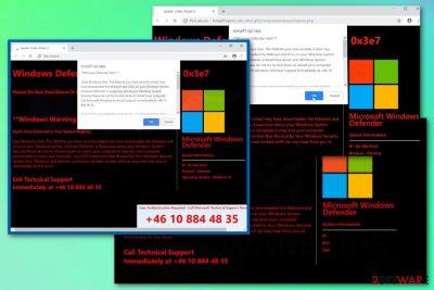 Windows Defender Alert (0x3e7)