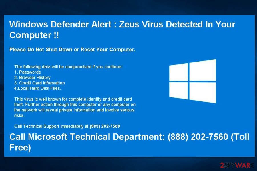 eliminar virus zeus windows 7