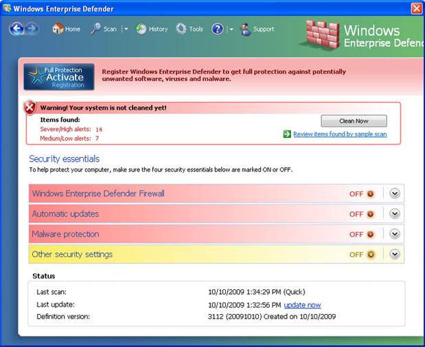 Windows Enterprise Defender